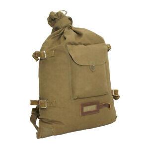 Genuine Soviet Russian Red Army Soldier Canvas Backpack Rucksack Veshmeshok USSR