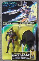 Batman Forever BLAST CAPE BATMAN Mosc New Figure Kenner