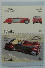 1938 TALBOT LAGO Car Stamps (Leaders of the World / Auto 100)