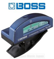 BOSS TU-10-BU Clip-On Tuner For Guitar / Bass New w/Tracking No. From Japan