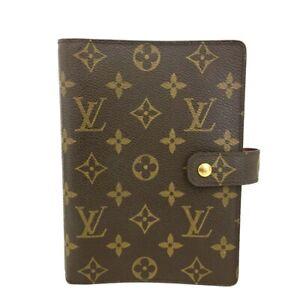 Louis Vuitton Monogram Agenda MM Notebook Cover /C1210
