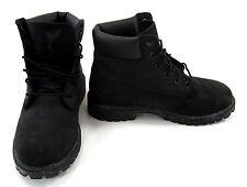 Timberland Shoes 6 Inch Premium Juniors Black Boots Men 5.5 Womens 7.5