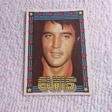 1978 Monty Gum - ELVIS PRESLEY - Club Card From Holland - (Blank Back) - Card 11
