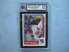 1986/87 O-PEE-CHEE HOCKEY CARD #95 LARRY MELNYK ROOKIE KSA 8.5 NM/MT+ 86/87 OPC