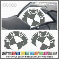 2x BMW R1200GS ADVENTURE 08-13 Grey ADESIVI PEGATINA STICKERS AUFKLEBER