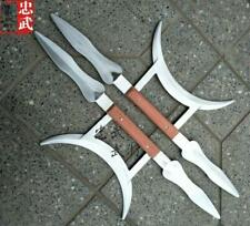 Chinese Weapons: Stainless Steel Bagua Meridian Mandarin Ducks and Ducks.