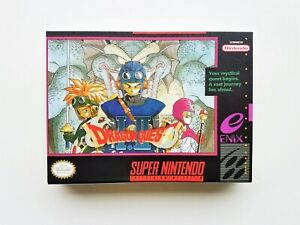 Dragon Quest 1 & 2 - (Game / Case) SNES Super Nintendo (English Fan Translated)