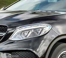 Schätz ® Chrom Scheinwerfer Rahmen Mercedes Benz GLE Coupe C292 ab 2015