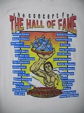 ROCK N ROLL Hall of Fame Concert 1995 SHIRT Large BANDS LISTED Dre Prince etc OH