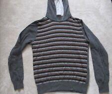 pull homme avec capuche SPONTINI small/medium, Stanbridge Nodus, men jumper wool