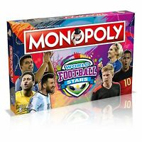Monopoly World Football Stars  Board Game