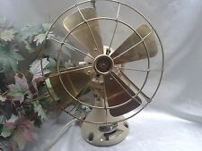"Superb Antique Vintage 1920's Verity´s 12""  Orbit Electric Fan Fully Restored"