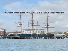 mp162 - HMS Warrior at Portsmouth - photo 6x4