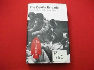 THE DEVIL'S BRIGADE BY ROBERT H. ADLEMAN & COL. GEORGE WALTON RARE HARDCOVER HTF