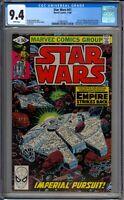 Star Wars 41 CGC Graded 9.4 NM Marvel Comics 1980
