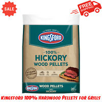 Kingsford 100% Hardwood Pellets for Grills, Hickory, 20 Pounds, Outdoor Cooking