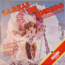 SAMBAS DE ENREDO Das Escolas De Samba BRASIL Press Rça 103.0659 1985 LP