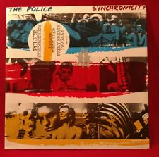 Police Synchronicity LP Holland AMLX 63735 Hype Sticker Original 1983 NM Notched