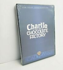 New ListingCharlie And The Chocolate Factory Dvd 2005 Promo For Your Consideration New Fyc