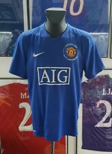 Maillot jersey  maglia camiseta shirt manchester united 2008 2009 ronaldo third