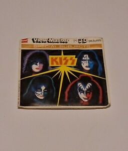 Rare Kiss Rock And Roll Band View Master GAF Reels Packet