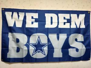 Dallas Cowboys We Dem Boys Flag 3X5 FT NFL Banner Polyester FAST SHIPPING!!!