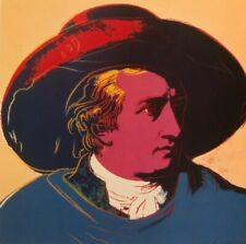 Andy Warhol Goethe & Diana Princess Of Wales - Pop Art Mini Poster 24x27cm R:30