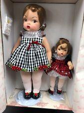16 & 10� Set Of 2 Terri Lee & Tiny Terri Holiday Christmas Dolls Mint Nrfb #2