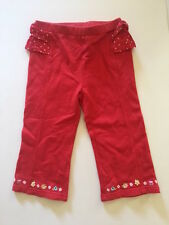 Gymboree Size 2T Girls Wish You Were Here Red Pants NWT NEW Free Shipping