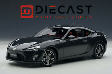 "AUTOART 78772 TOYOTA 86 GT ""LIMITED"", ASIAN VERSION/RHD, GRAY METALLIC, 1:18TH"