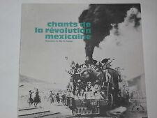 Chants de la révolution mexicaine LP