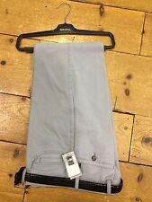 Bruhl Soft Brushed Cotton 'Arizona' Regular Fit Trousers in Glacier Blue - 56/30