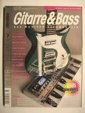 GITARRE & BASS 2008 # 7 - PAUL GILBERT STEVE WINWOOD WES BORLAND GLENN HUGHES