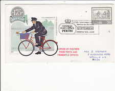 GENERAL POST OFFICE PERTH 175TH ANNIVERSARY  PICTORIAL POSTMARK COVER  C