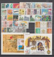 SPAIN - ESPAÑA - YEAR 1993 COMPLETE WITH ALL THE STAMPS MNH AND MINISHEETS