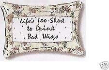 WORD PILLOW - BAD WINE DESIGN Style MWW 102