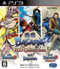 Sengoku Basara HD Collection PS3 Capcom Sony Playstation 3 Japan USED