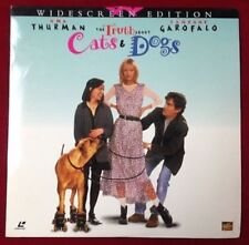 The Truth About Cats & Dogs - Uma Thurman - LaserDisc VideoDisc Laser Disc Video