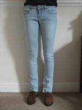 Topshop Faded Slim, Skinny Mid Rise Jeans for Women