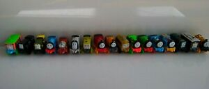 Thomas The Train Mini's Lot Of 17 Trains