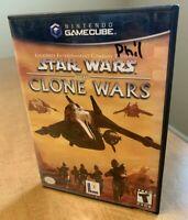 Star Wars: The Clone Wars (2002) - Nintendo Gamecube - Complete