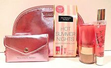 VICTORIA'S SECRET ROSE GOLD MAGIC IN THE AIR COSMETIC BAG SURVIVAL KIT NEW!
