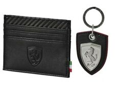PUMA Ferrari 10th Anniversary Wallet and Keyring Set With Presentation Case