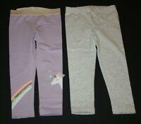 New Carter/'s Girls 2 Pack Leggings Pants Flower Lady Bug Knees NWT 2 3 4 5 7 8