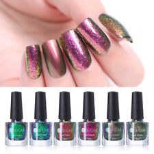 UR SUGAR Chameleon Nail Art Polish Glitter Sequins Nail Polish Black Base Needed