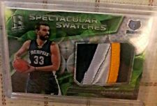 marc gasol panini spectra patch 2016/17 patch
