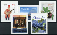 Portugal Tourism Stamps 2020 MNH Azores Fruits Flowers Music Whales 5v S/A Set