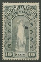 CANADA REVENUE BCL5a USED WATERMARKED VARIETY