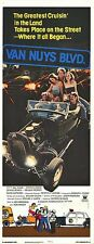 HOT ROD ROADSTER/AUTO RACING original 1979 14x36 movie poster VAN NUYS BLVD.
