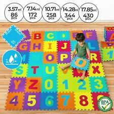 Dalles Puzzle en Mousse EVA Tapis de Jeu Sol pour Bébé Enfant 86 - 430 Pièces